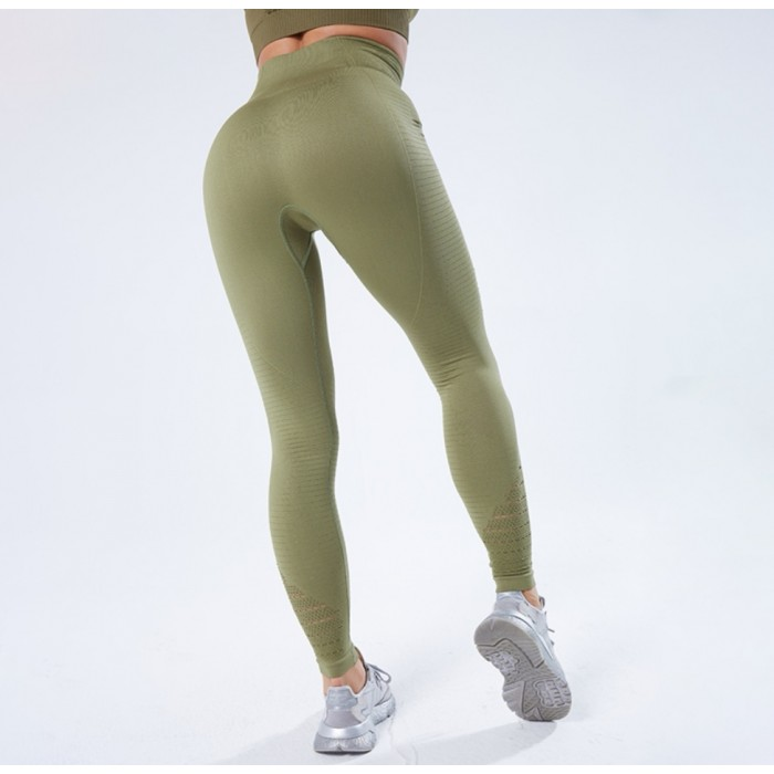 """Tamprės """"Compression Army Green"""""""